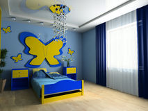 Children's room Stock Photo