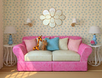 Children's room. Stock Images
