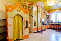 Children's Room. Beautiful interior of children's room Royalty Free Stock Photo