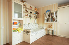 Children's room. Beautiful children's room in the modern house Stock Photo