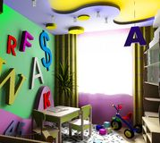 Children's room Royalty Free Stock Photography