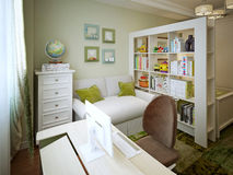 Children's room for boy modern style Stock Image