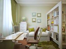 Children's room for boy modern style Stock Photo