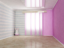 Children's room in gentle tones Royalty Free Stock Photos