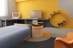 Children's room interior Stock Photos