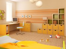 Children's room interior Stock Photography
