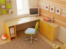 Children's room interior Royalty Free Stock Photos
