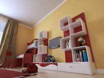 Children's room in a modern style Royalty Free Stock Photography
