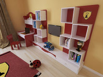 Children's room in a modern style Stock Images