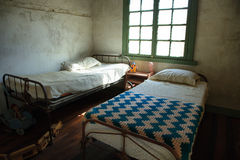 Children's room of old house of Humberstone, Chile Stock Images