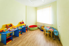 Children`s room with toys. Stock Photo