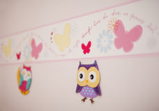Children's room wall decor Royalty Free Stock Photography