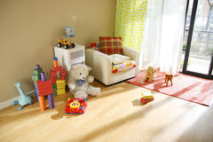 Children's rooms royalty free stock images