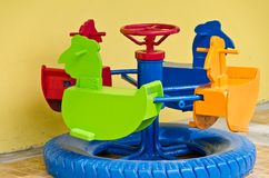 Children's roundabout Royalty Free Stock Photos