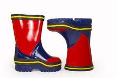 Children's  rubber boots Stock Photo