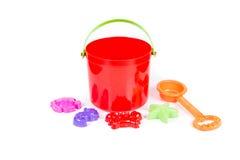 Children's sand beach toys Royalty Free Stock Photos