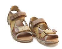 Children's sandal Stock Images