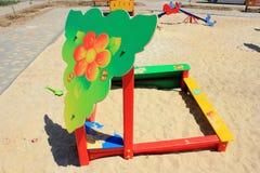 Children's sandbox Royalty Free Stock Image