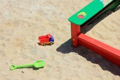 Children's sandbox Stock Photo
