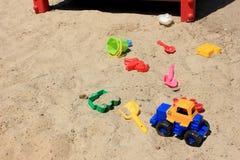 Children's sandbox Royalty Free Stock Photo