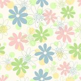 Children's seamless background Stock Image