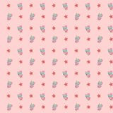 Children`s seamless pattern for background, Wallpaper stock photography