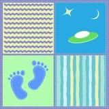 Children`s seamless pattern. Vector illustration. Children`s seamless pattern. For a boy. Vector illustration Stock Photos