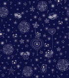 Children's seamless pattern. Stock Images
