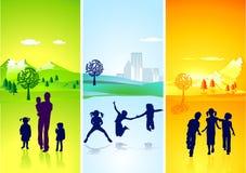 Children's season Stock Image