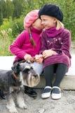Children's secrets Stock Photo