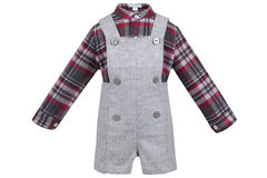Children's set of clothes. Royalty Free Stock Images