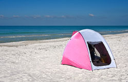 Children's Shelter Beach Tent Royalty Free Stock Photo