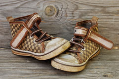 Children`s Shoes. Royalty Free Stock Images