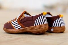 Children's shoes Stock Photos
