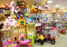 Children's shop Stock Images