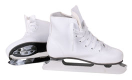 The childrens skates Stock Photo
