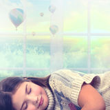 Children's sleep Stock Images