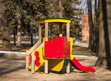 Children's slide Royalty Free Stock Photography