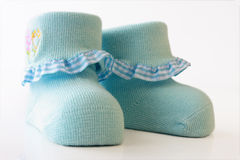 Сhildren's socks Royalty Free Stock Photos
