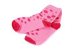 Children's socks isolated on white background Royalty Free Stock Photo