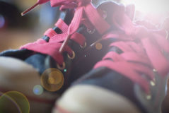 Children's sport shoes Royalty Free Stock Image