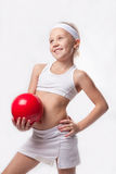 Children's sports - joy and health Stock Images