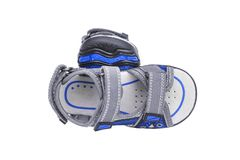 Children`s sports sandals. royalty free stock images