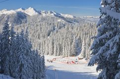 Children's stadium. Ski resort Schladming.  Austria Stock Photography