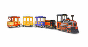Children's steam locomotive Royalty Free Stock Photography
