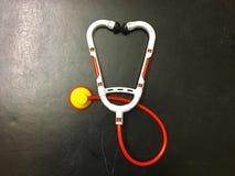 Children& x27; s-stetoskop Arkivbild