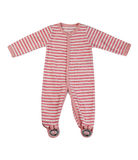 Children`s striped overalls Royalty Free Stock Image