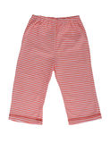 Children's striped pants Royalty Free Stock Photography
