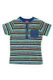 Children`s striped shirt isolate Stock Images