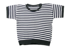 Children's striped vest Royalty Free Stock Photography